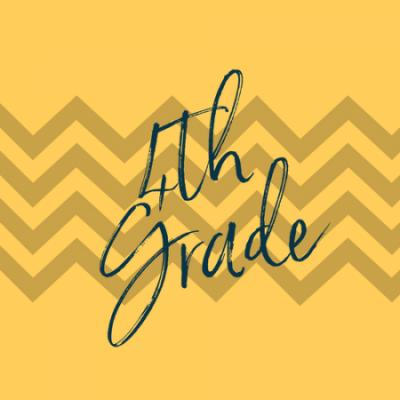 Group logo of 4th Grade