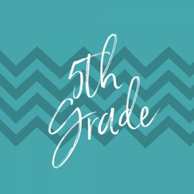 Group logo of 5th Grade